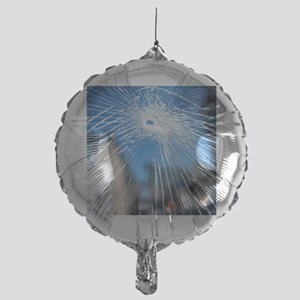 Broken glass Mylar Balloon