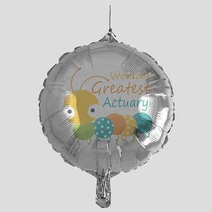 World's Greatest Actuary Mylar Balloon