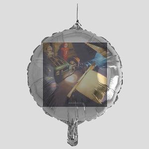 barn-find vertical calendar-02 Mylar Balloon