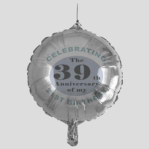 Funny 60th Birthday Mylar Balloon