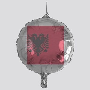 albania flag Mylar Balloon