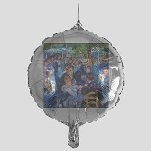 Renoir: Dance at Moulin d.l. Galette Mylar Balloon