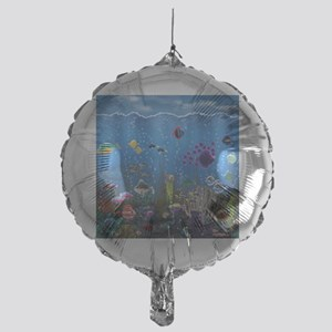 Underwater Love Mylar Balloon