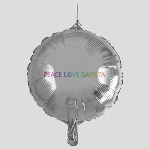 Peace Love Dakota Balloon