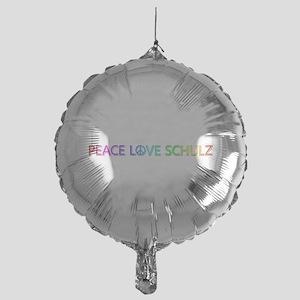 Peace Love Schulz Balloon