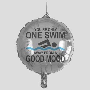 schwimmen Mylar Balloon