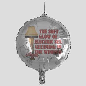 Electric Sex Mylar Balloon