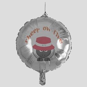 Sheep On Fire Mylar Balloon