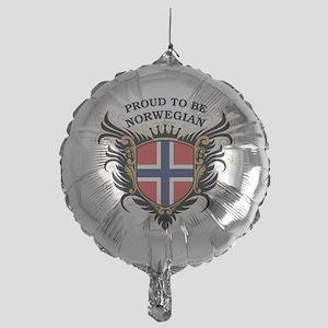proud_norwegian Mylar Balloon