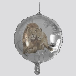 Lion And Cubs Balloon