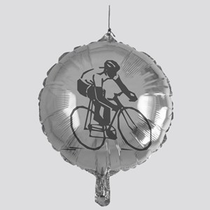 Cyclist Mylar Balloon