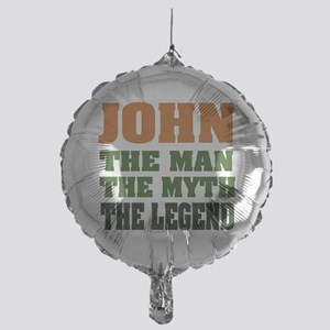 John The Legend Mylar Balloon