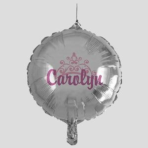 Princess Crown Personalize Balloon