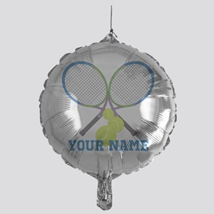 Personalized Tennis Player Balloon