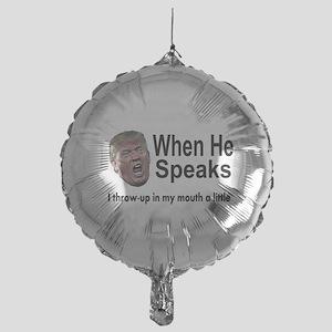 when the Don Speaks Balloon
