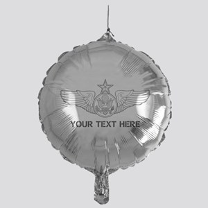 PERSONALIZED SENIOR ENLISTED AIRCREW Mylar Balloon