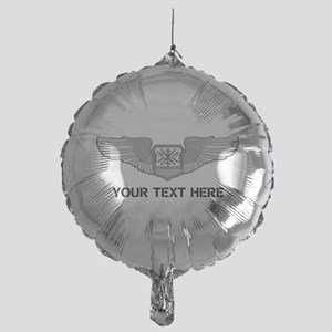 PERSONALIZED NAVIGATOR WINGS Mylar Balloon