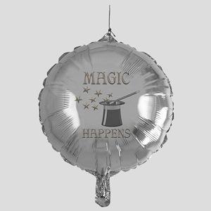 Magic Happens Mylar Balloon