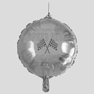 Racing Speed Shop Balloon