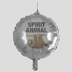 Sloth is my Spirit Animal Balloon