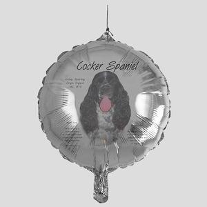 Parti Cocker Spaniel Mylar Balloon