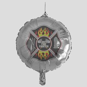 Volunteer Firefighter Mylar Balloon