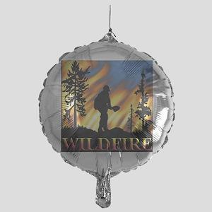 Wildfire Mylar Balloon