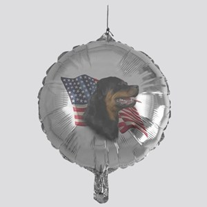 RottweilerFlag Mylar Balloon