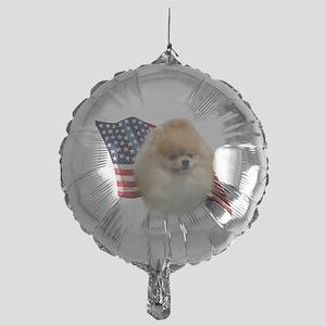 PomFlag Mylar Balloon