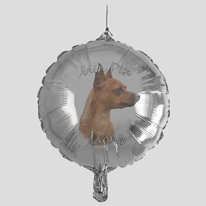 MiniPinrustMom Mylar Balloon