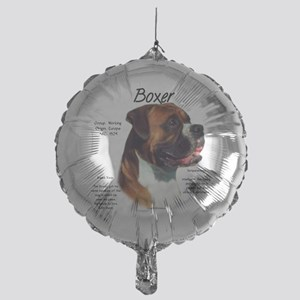 Boxer (natural) Mylar Balloon