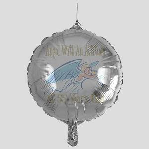 AngelAttitude55 Mylar Balloon