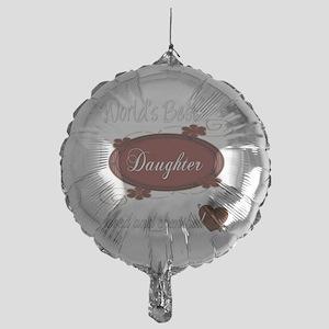 cherished daughter copy Mylar Balloon