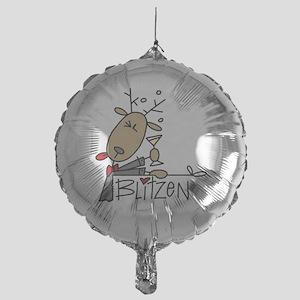 reindeerblitzen Mylar Balloon