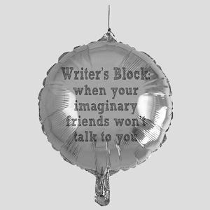 Writer's Block Mylar Balloon