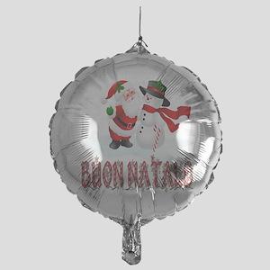 buon natale bb Mylar Balloon