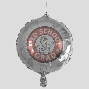 Med School Grad (Male) Mylar Balloon