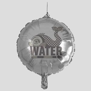 Fish Water Mylar Balloon