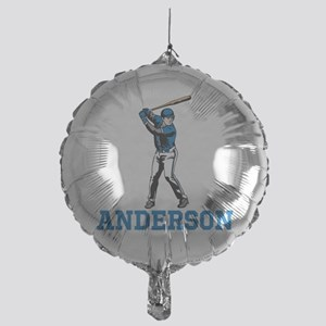 Personalized Baseball Mylar Balloon