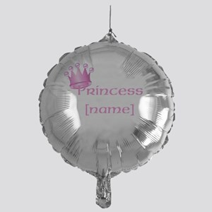 Personlized Princess Mylar Balloon