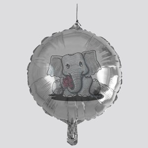 KiniArt Elephant Mylar Balloon