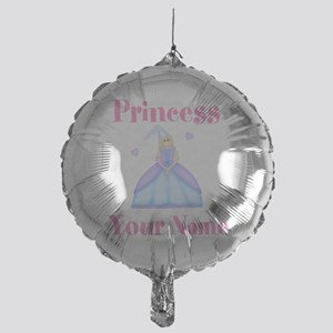 Blond Princess Personalized Mylar Balloon