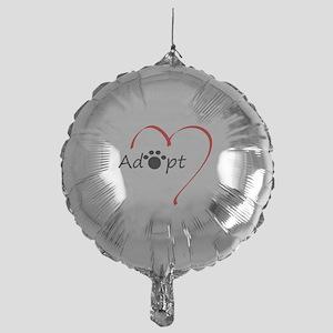 Adopt Mylar Balloon