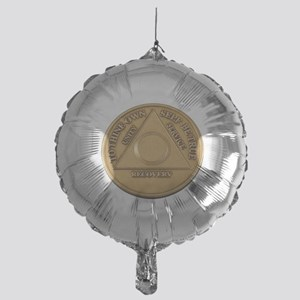 Alcoholics Anonymous Anniversary Chip Balloon