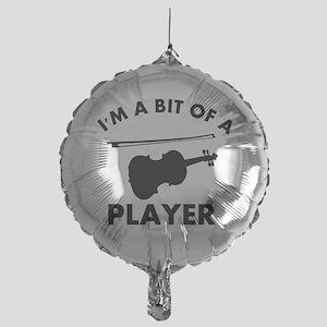 Cool Violin designs Mylar Balloon