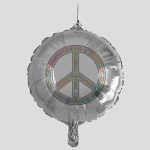 Peace Mylar Balloon