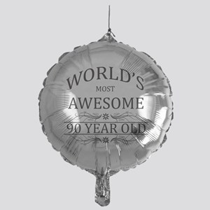 World's Most Awesome 90 Year Old Mylar Balloon