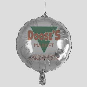 Dooses Market Gilmore Logo Balloon