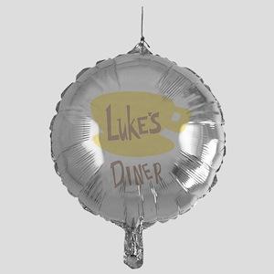 Lukes Diner Logo Balloon