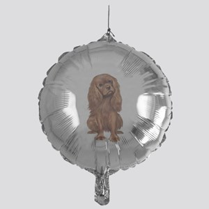 Ruby Cavalier 1 Mylar Balloon
